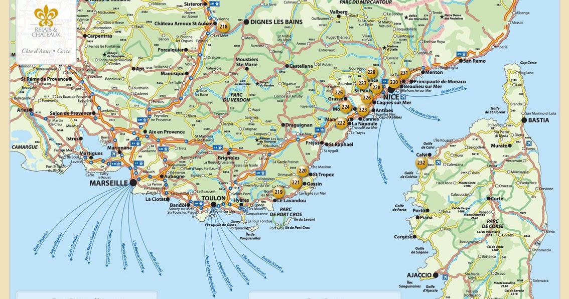Romania Live Coasta De Azur Live Webcam Nisa Harta Coastei De Azur