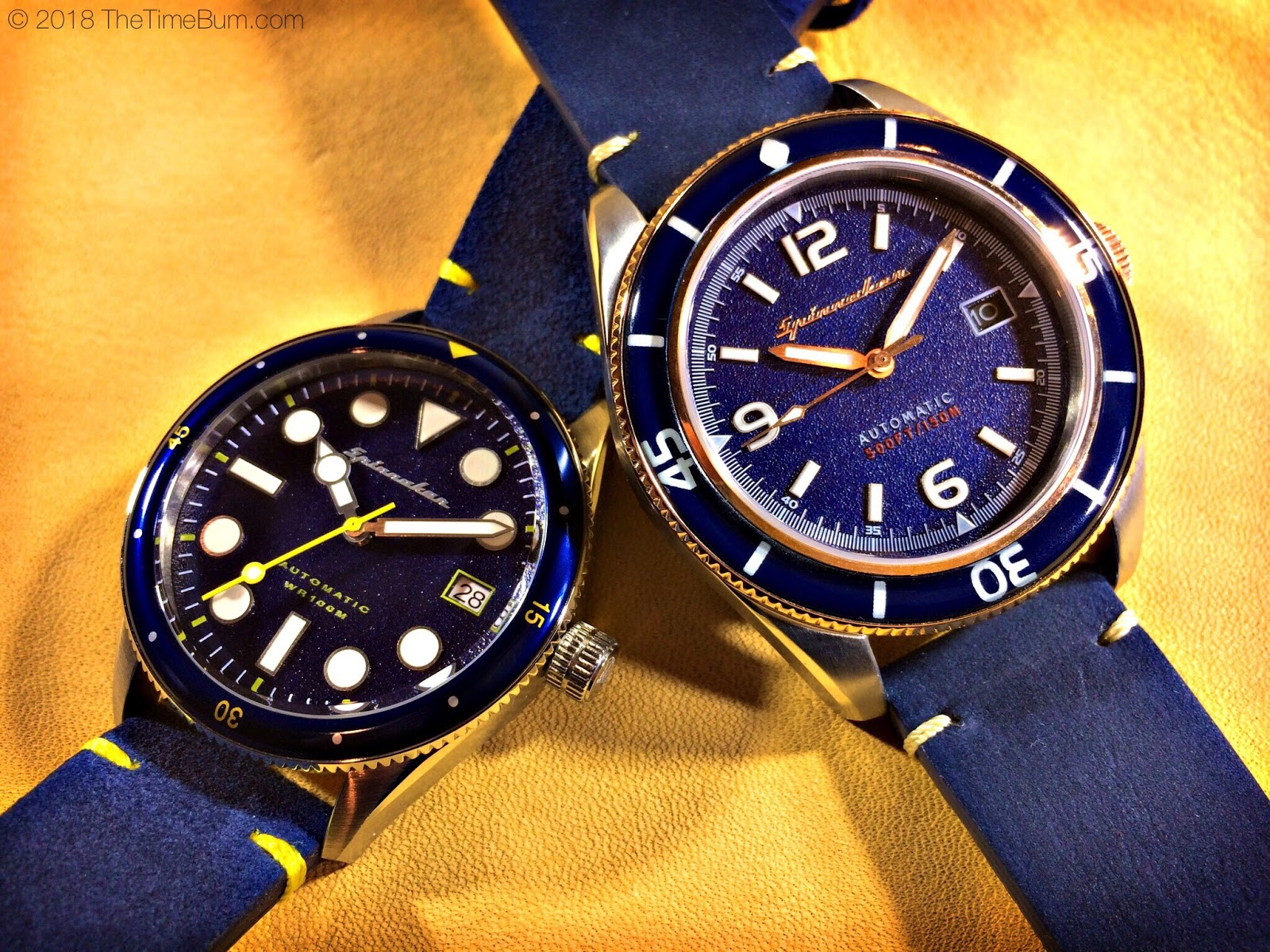 TheTimeBum - Double Spinnaker Giveaway! | Borealis Watch Forum: Open