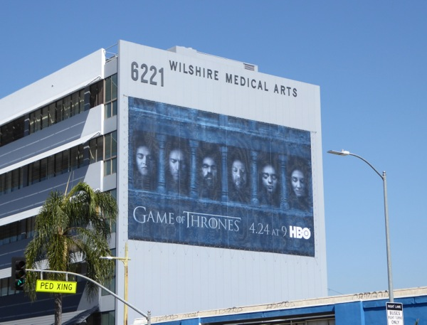 Game of Thrones season 6 billboard