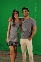 Kriti Sanon & Sushant Singh Rajput Pos During Promotional Interview For Raabta .COM 0007.jpg