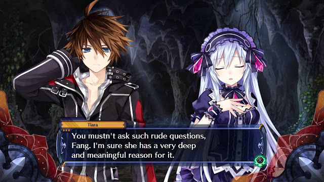 Cut Scene from Fairy Fencer F2