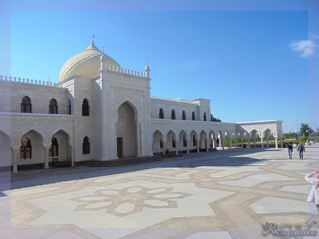 территория белой мечети