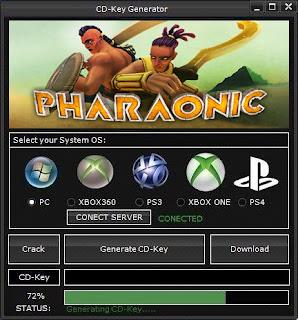 Pharaonic Key Generator (Free CD Key)