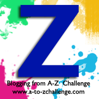 Z is for Zaffre #AtoZChallenge
