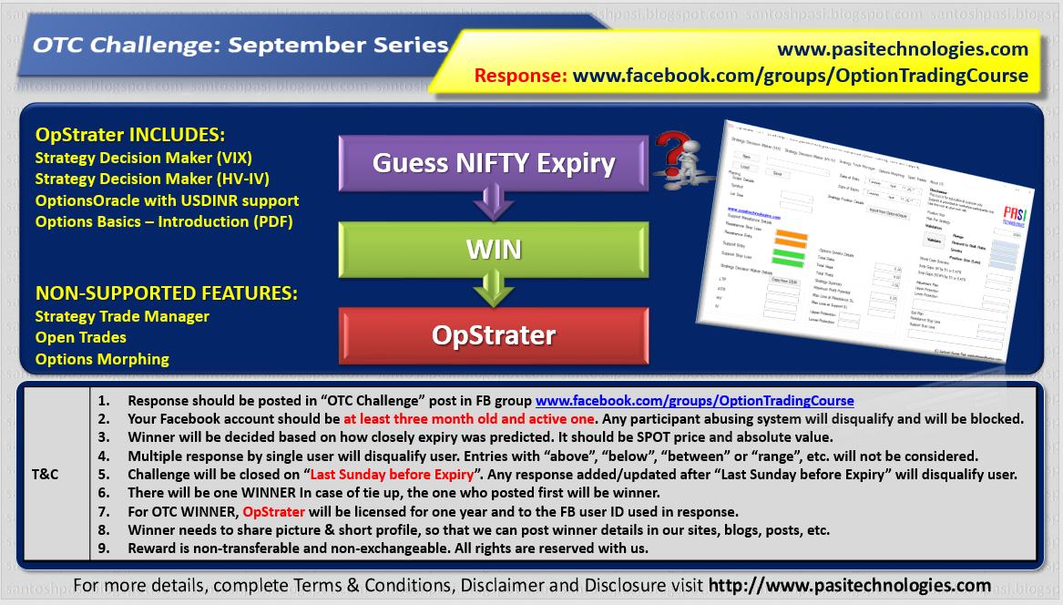 OTC Challenge: September Series, 2017
