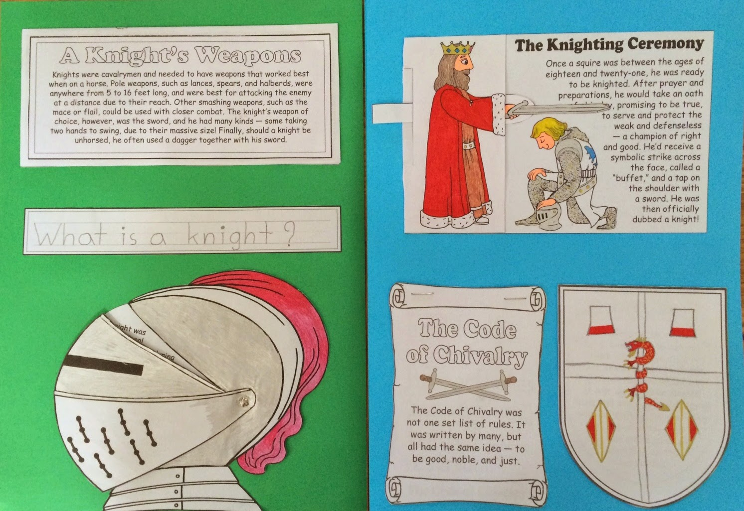 Knight Lapbook Amp Go Along Books