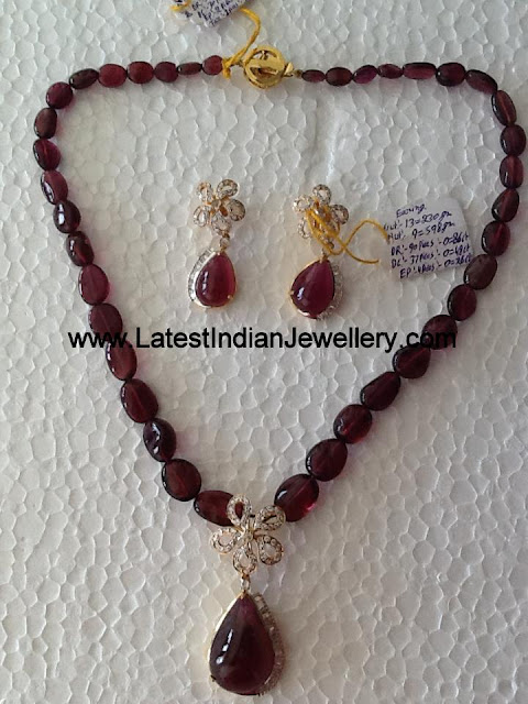 Tourmaline Necklace from Manjula