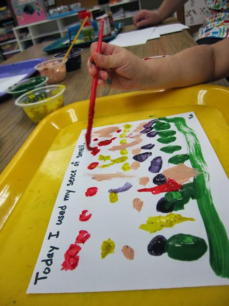 Five Senses Preschool Art Projects