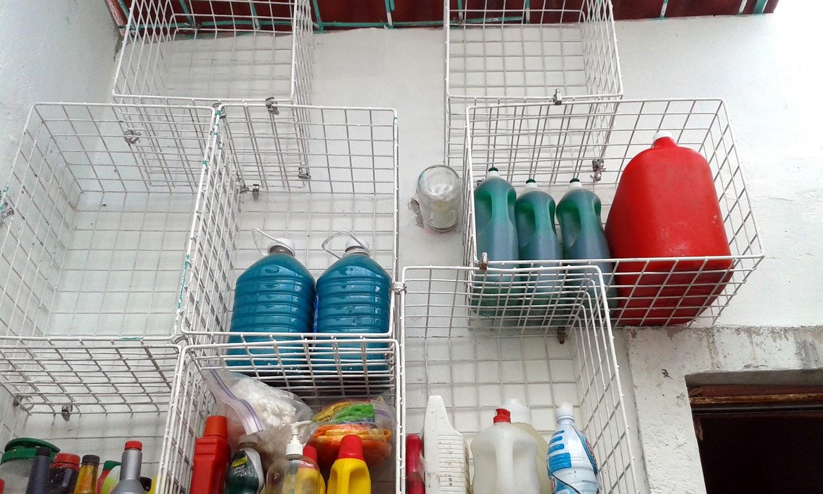Mi casa soluciones practicas para organizar en casa - Organizador de lavanderia ...