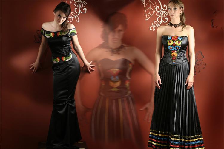 0ef4132f5249 A ruhakölteményeket a szegedi Aphrodite ruhaszalon készítette a  Népművészeti Egyesületek Szövetsége és a Hagyományok Háza által  meghirdetett, TETŐTŐL TALPIG ...