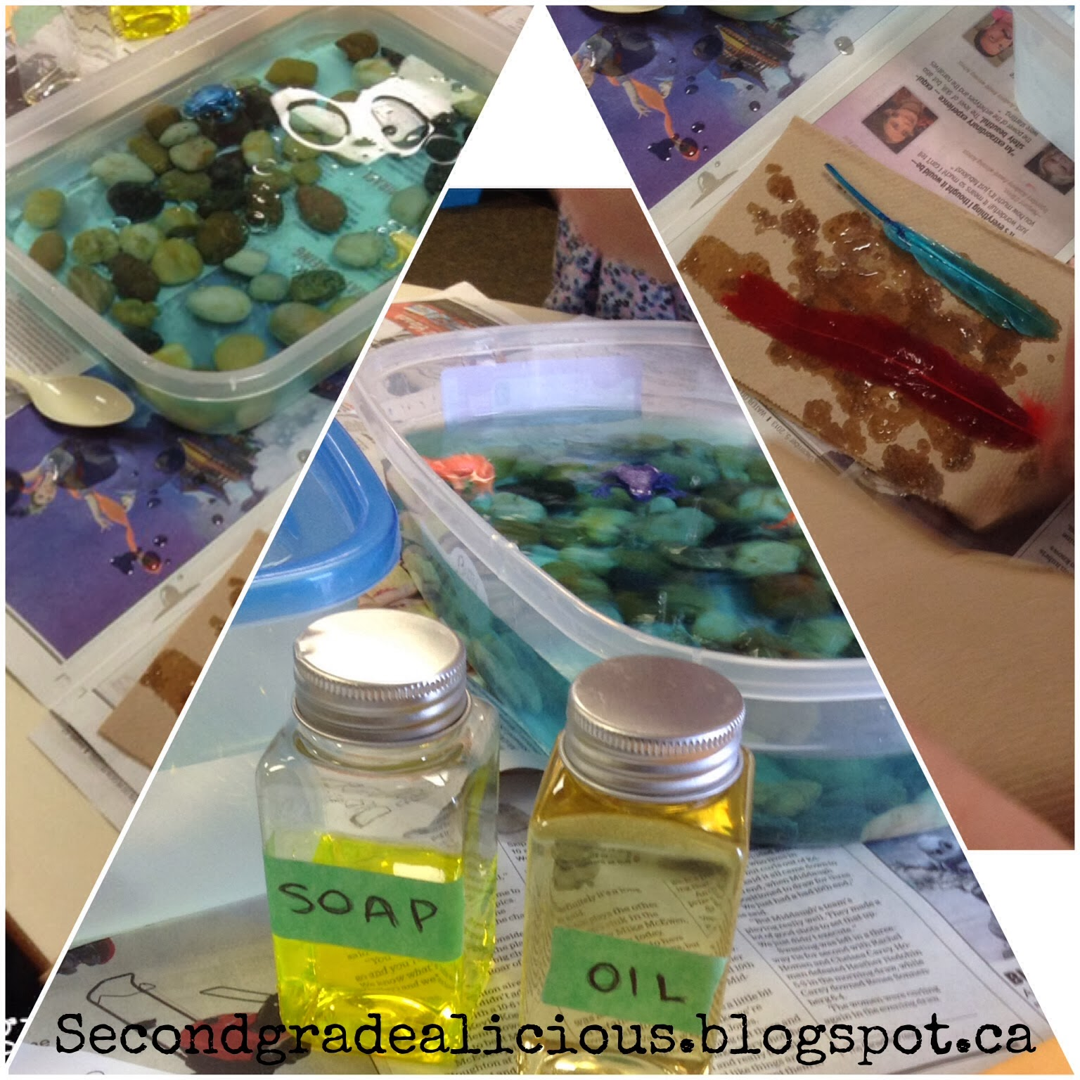 Liquids Solids And An Oil Spill Activity