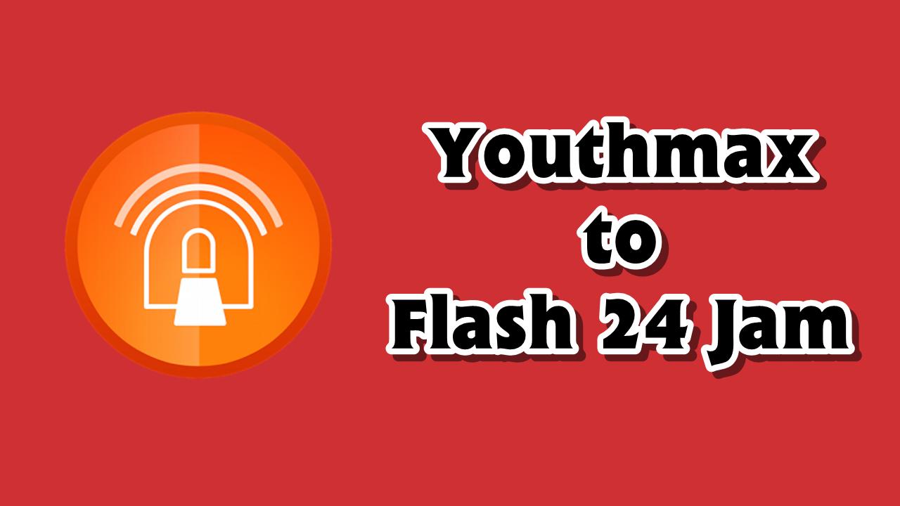 Cara Merubah Kuota Youthmax Menjadi Kuota Flash 24 Jam