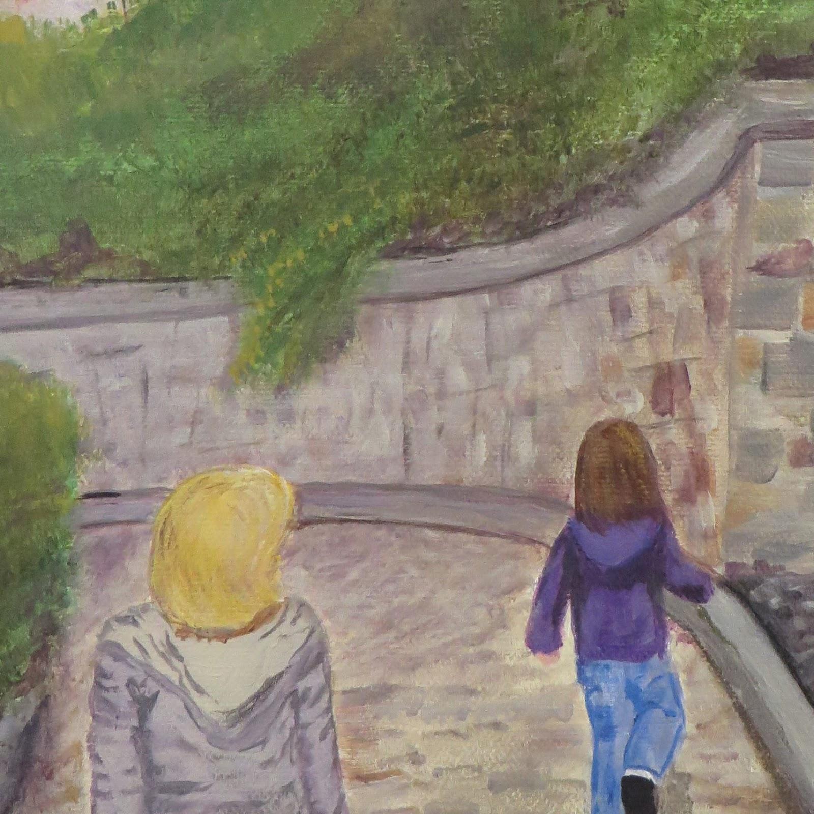 Girls in Old Quebec - Redux