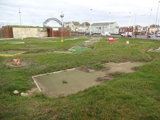 Arnold Palmer Starr Gate Crazy Golf course in Blackpool