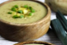 Creamy Vegan Potato Leek Soup