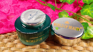 World Of Beauty - Couper Beauty Mask - packaging