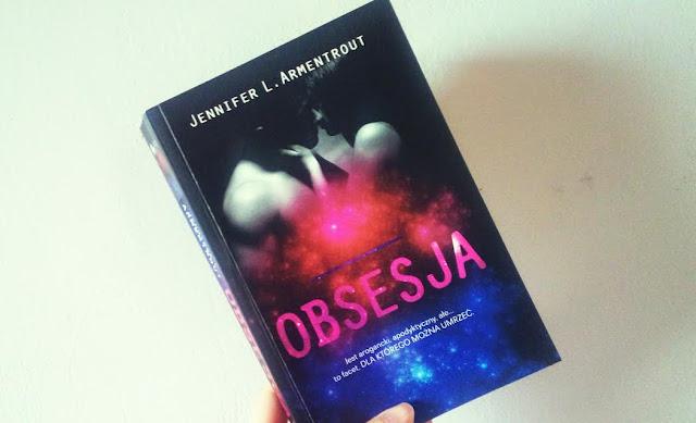 """""""Obsesja"""" Jennifer L. Armentrout"""