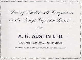 A K Austin Ltd advert from August 1967