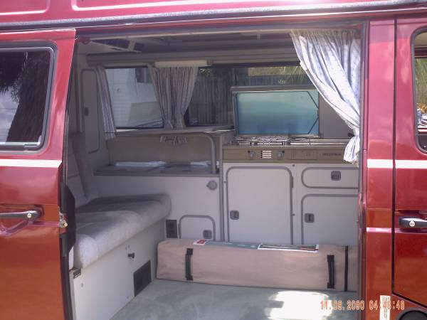 Vw westfalia collectible camper buy classic volks for Interior westfalia