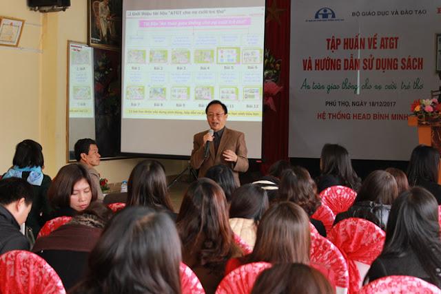 Tham gia Tập huấn ATGT tại Phú Thọ được tặng nón bảo hiểm chất lượng