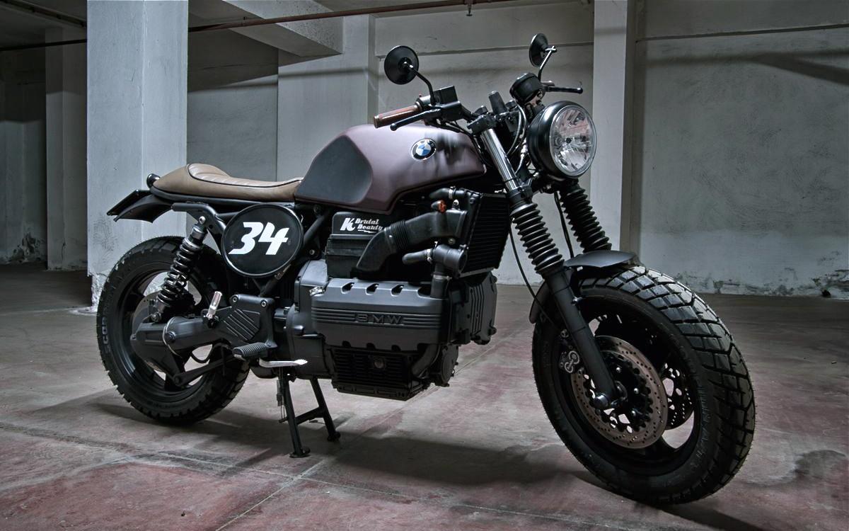motorecyclos k100 scram inazuma caf racer. Black Bedroom Furniture Sets. Home Design Ideas
