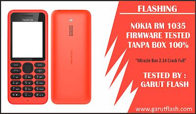 Flashing Nokia RM1035 Tanpa BOX Tested 100%