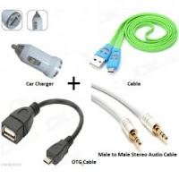 [ Loot ] Combo Pack of OTG + Charging Cable And More at Rs.99