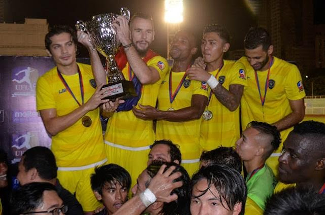 Global FC wins UFL 2016.