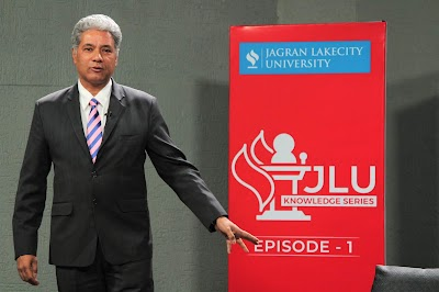 """JLU Knowledge Series: """"Leadership and Life Lessons from the Corporate and Sports World"""" by Mr. Samar Singh Sheikhawat, Former Chief Marketing Officer, United Breweries Ltd."""