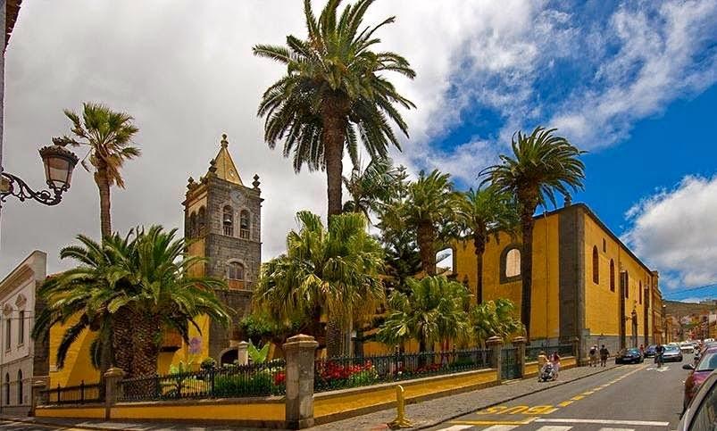 San Cristobal de La Laguna en la Isla de Tenerife