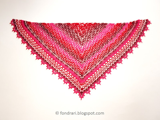 Midsummer Night's Shawl