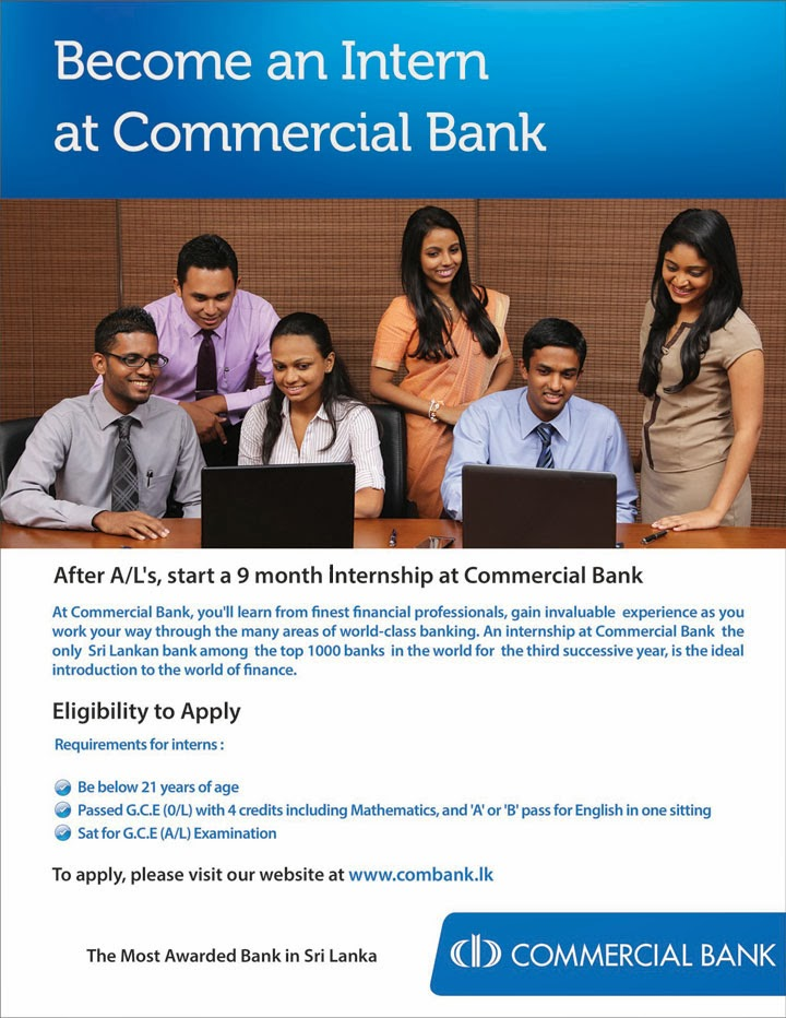 effectiveness of internship in commercial banks Commercial banking rely on our comprehensive solutions, global capabilities, local teams and industry expertise to help your organization accomplish its goals start of commercial banking carousel slides.