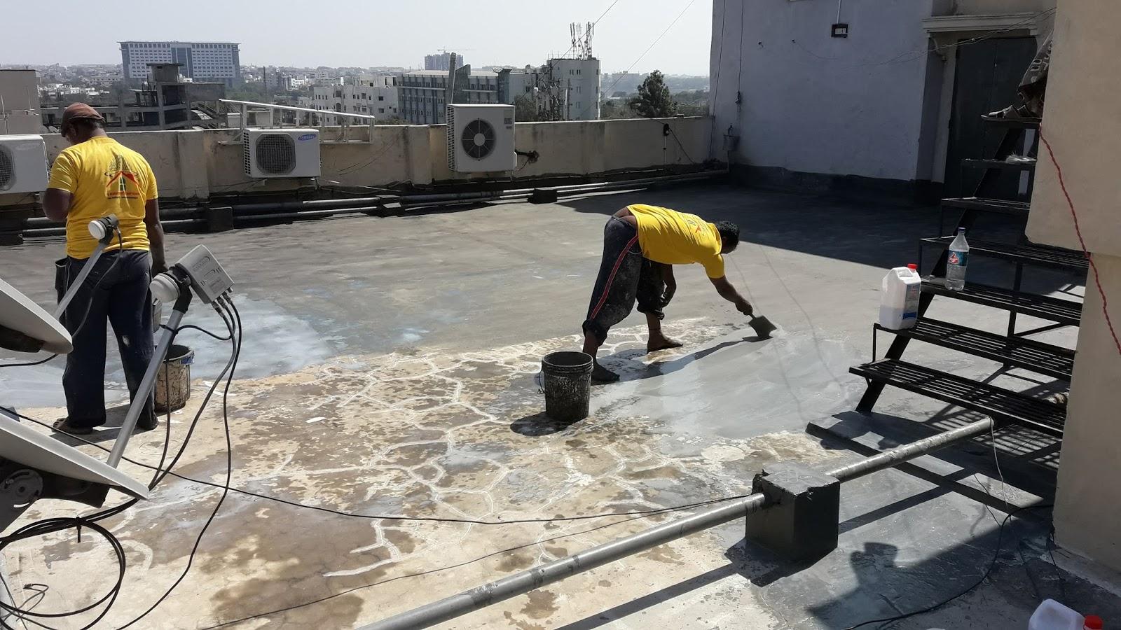 ss waterproofing services in Hyderabad | Waterproofing contractors