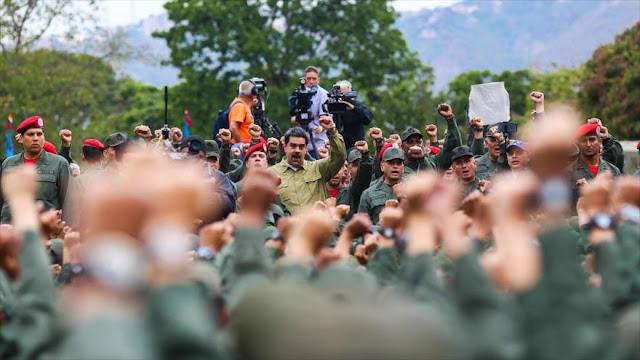 EEUU revela contactos directos con militares venezolanos por golpe