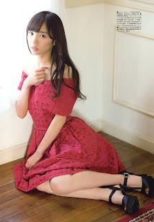 Saito Kyoko 齊藤京子 Keyakizaka46, UTB 2017.03 (アップ トゥ ボーイ 2017年03月)
