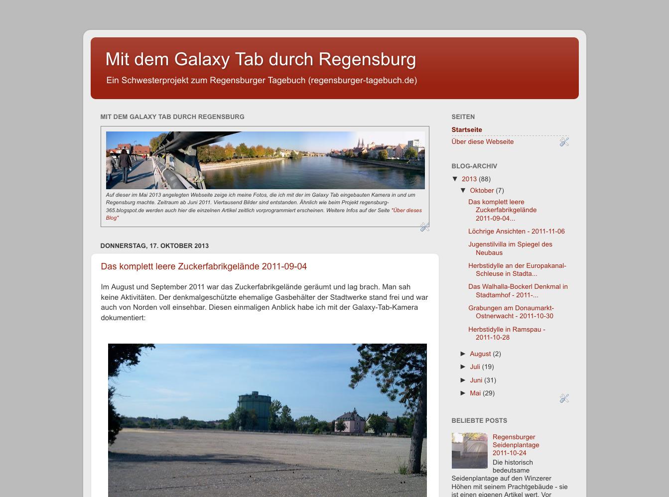 Regensburger Tagebuch Mai 2018