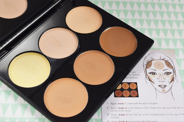 Sleek MakeUP Cream Contour Kit in Light