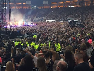 Beyonce Glasgow music concert turns violent
