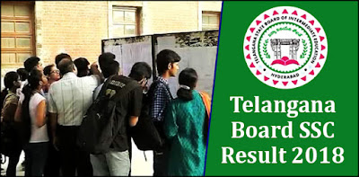 TS 10th Result 2018 - Telangana 10th SS result 2018