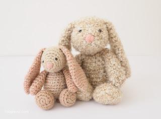 free bunny crochet pattern,