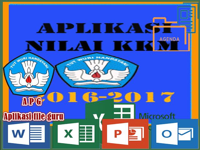 Aplikasi KKM Kelas 1 2 3 4 5 6 SD Format Excel