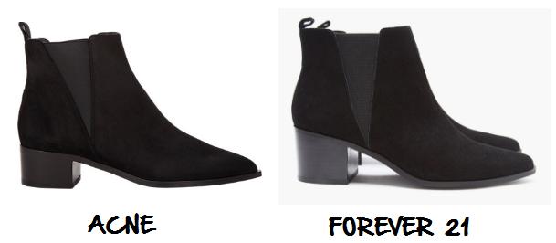 Clon botas Acne Forever
