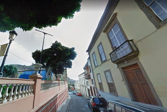 Degüella a un vecino en Guía, Gran Canaria