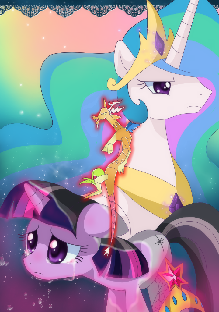 Twilight Sparkle And Discord In Love Equestria Daily - MLP ...