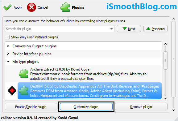 calibre drm plugin