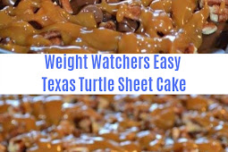 Weight Watchers Easy Texas Turtle Sheet Cake