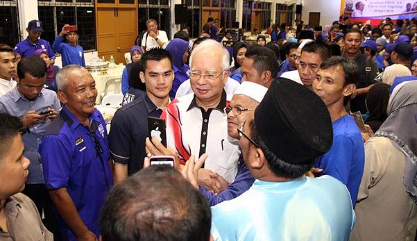 Najib Ingatkan Rakyat Sarawak Undi BN
