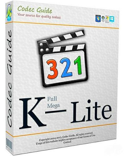 K-Lite Codec Pack Update 11.9.3 Full / Tweak Tool v6.0.4 Latest