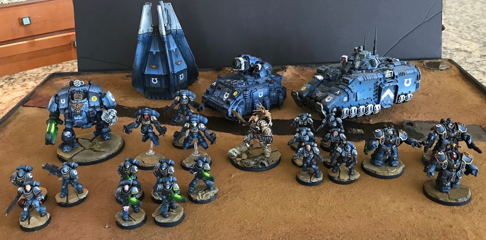 Ultramarines Army 40k Hobby Blog: Primar...