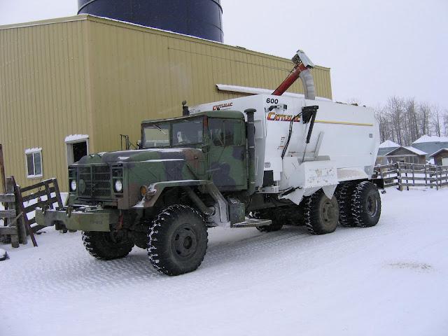 Cariboo 6x6 Trucks: Client's Trucks